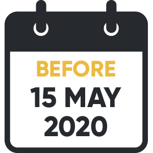 Before May 15th 2020